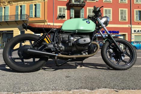 BMW R80 RT Bratstyle